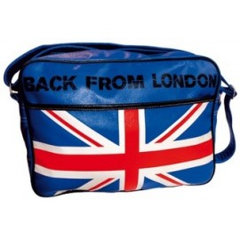 Le sac reporter long London Bleu mode