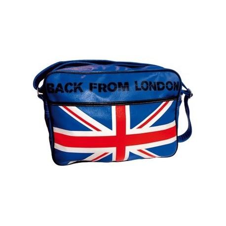 Le sac reporter long London Bleu mode