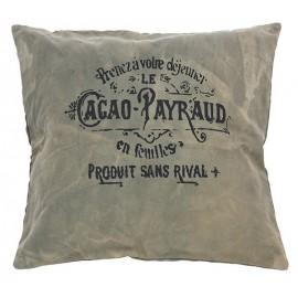 Instants gourmands avec le coussin CACAO