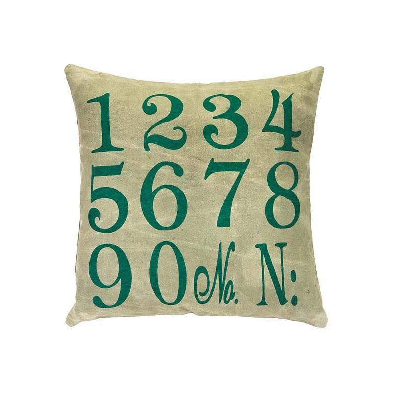 number coussin carr 50x50 d coration chambre ado kids kolorados. Black Bedroom Furniture Sets. Home Design Ideas