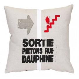 Coussin PARIS RUE DAUPHINE