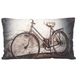 BICYCLETTE coussin 30x50 cm mprimé vélo rétro