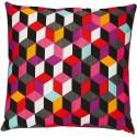 Coussin KALEOS graphique 45*45 cm motifs géométriques
