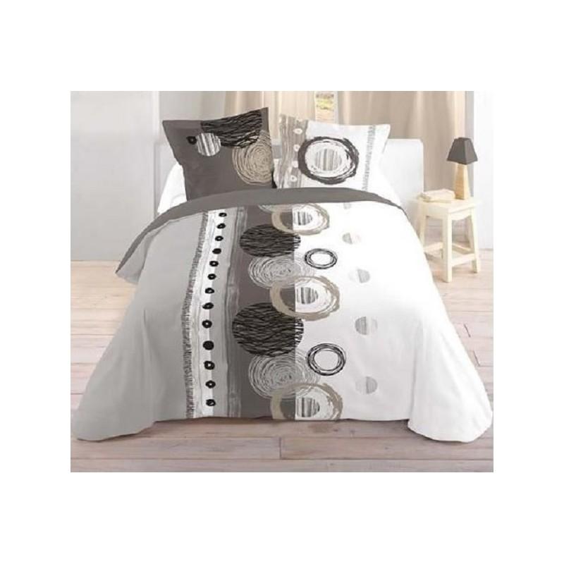 Housse de couette originale parure de lit vintage pour for Housse de couette 1 personne ado