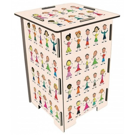 CHILDREN Tabouret en medium