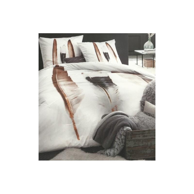 plumes housse de couette 240220 cm 2 taies doreiller parure - Parure Housse De Couette 2 Personnes