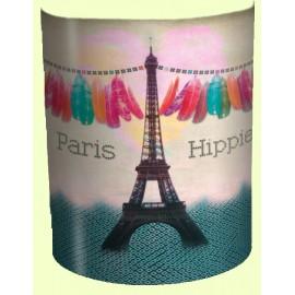 PARIS HIPPIE applique murale imprimée Tour Eiffel
