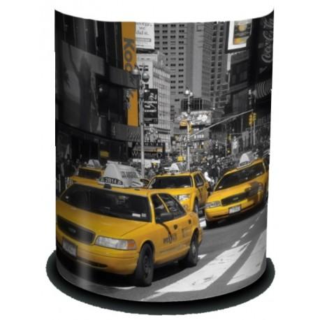 NEW YORK applique murale lampe imprimée taxis
