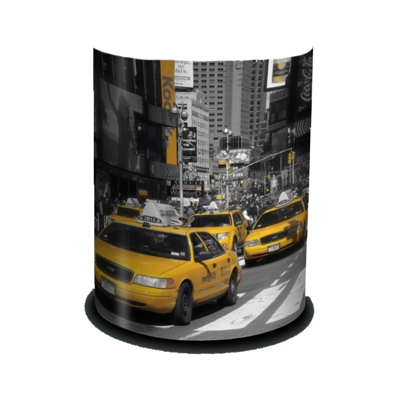 new york applique murale pvc d coration taxi jaune usa. Black Bedroom Furniture Sets. Home Design Ideas