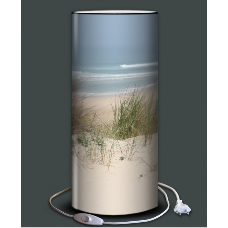 marine lampe de chevet cm imprime plage with lampe de chevet ado garon. Black Bedroom Furniture Sets. Home Design Ideas