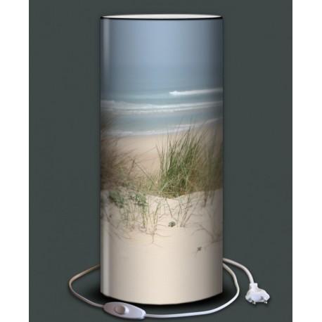MARINE lampe à poser imprimée plage