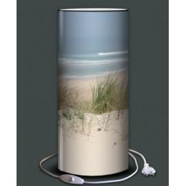 MARINE lampadaire 118 cm imprimé bord de mer