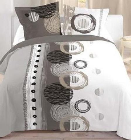 D corer une chambre d 39 ado zoom sur le linge de lit - Housse de couette paris 220x240 ...