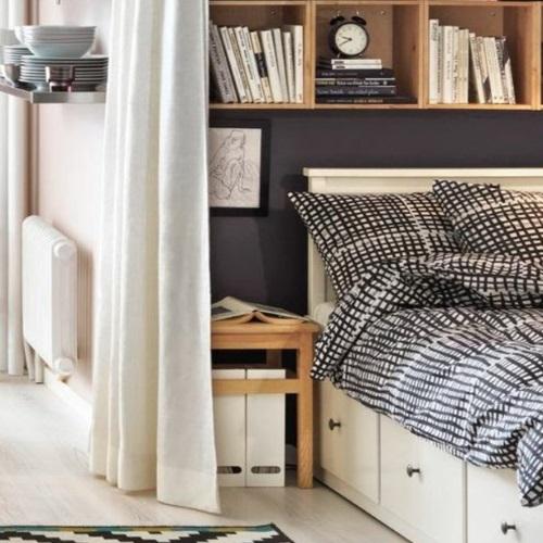 Comment cr er une vraie chambre dans un studio d 39 etudiant kolorados - Creer une chambre dans un studio ...