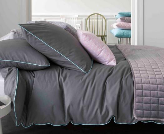 une saison pleine de douceur avec le linge de lit qui vous. Black Bedroom Furniture Sets. Home Design Ideas