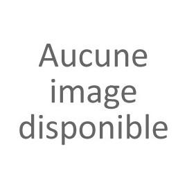 BRESIL Coussin 40x40 cm blanc imprimé noir